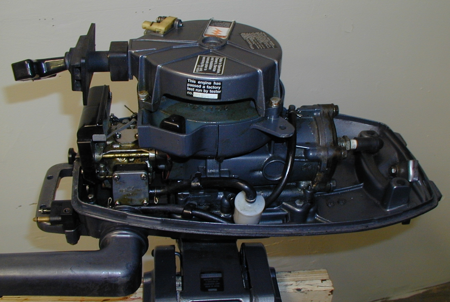 Mariner 5hp Air Cooled Outboard